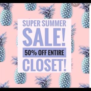 Accessories - 50% off entire closet for limited time only!